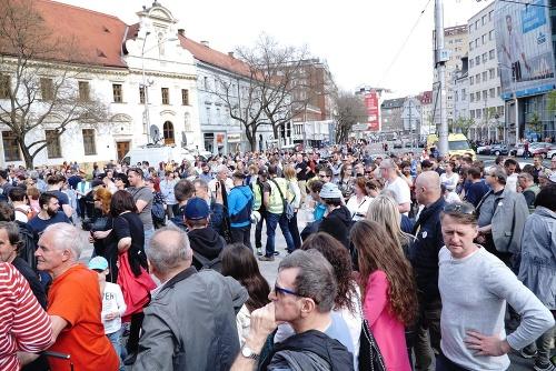 Zhromaždenie v Bratislave