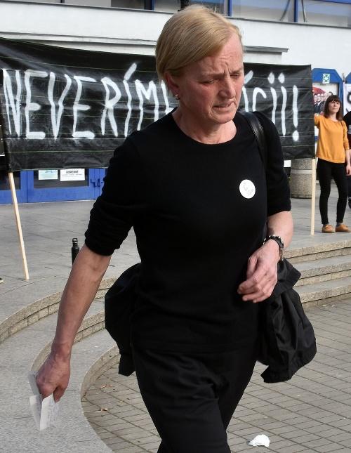 Matka Martiny Kušnírovej Zuzana