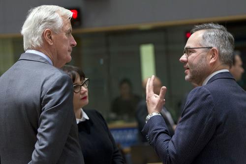 Michel Barnier a Michael