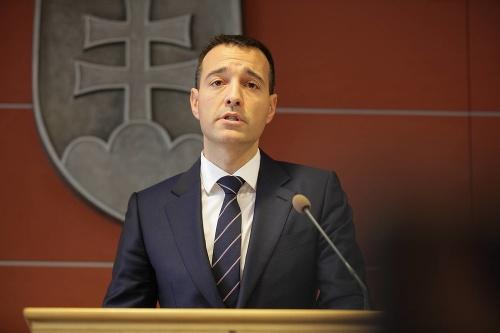 Minister vnútra Tomáš Drucker