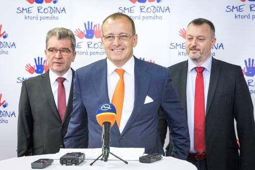 Podpredseda hnutia Milan Krajniak