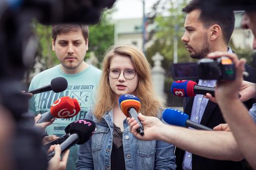 Organizátori Za slušné Slovensko