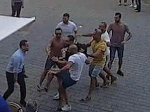 Policajné zábery z útoku