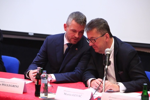 Peter Pellegrini a Martin