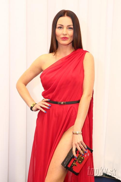 Moderátorka Kristína Kormúthová