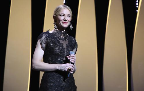 Cate Blanchett počas otvorenia