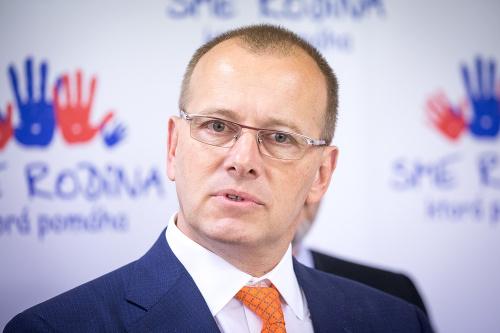 Predseda hnutia Boris Kollár