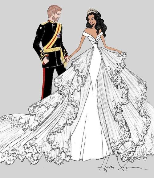 Návrhy šiat pre kráľovskú