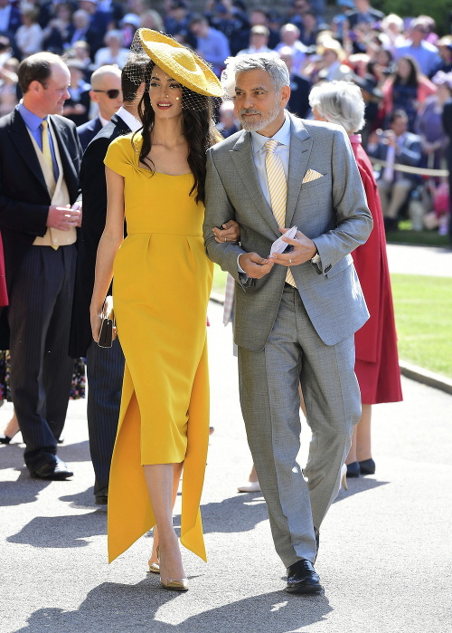 George Clooney s manželkou