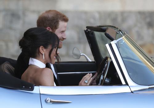 Kráľovská nevesta na svadobnej