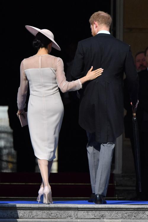 Debut vojvodkyne Meghan: Nenápadné