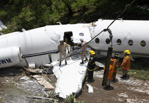 Nehoda lietadla v Hondurase