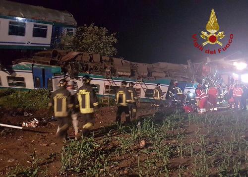 Zrážka vlaku s kamiónom