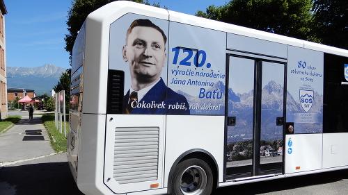 Nový autobus v meste