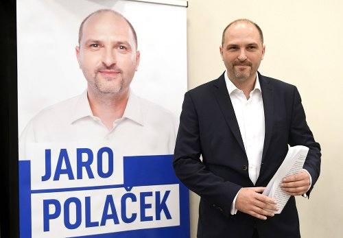 Na snímke Jaroslav Polaček