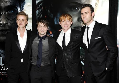 Tom Felton, Daniel Radcliffe,