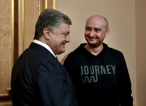 Petro Porošenko a Arkadij