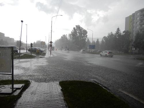 Liptovom sa prehnala búrka: