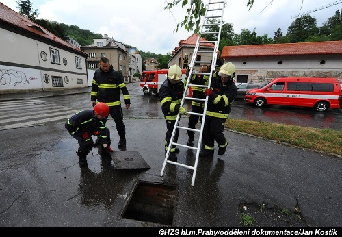 Dráma v Prahe: Prívalová
