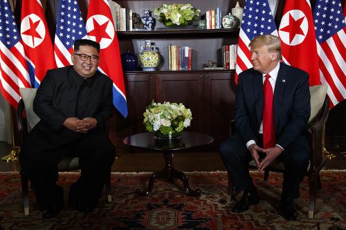 Stretnutie Kim Čong-una s