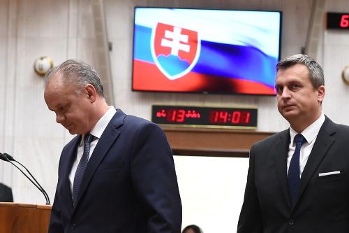 Andrej Kiska a Andrej