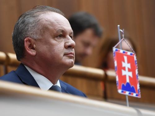 Kiskov prejav v parlamente