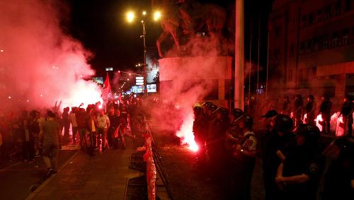 Demonštrácie v hlavnom meste