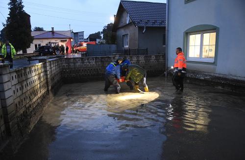 Slovensko zasiahli silné dažde: