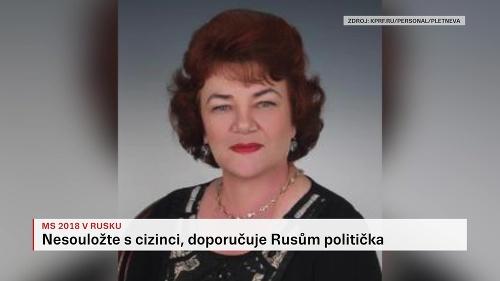 Ruská politička varuje tamojšie