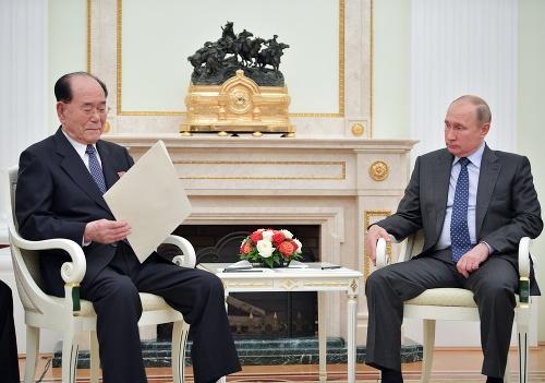 Ruský prezident V. Putin
