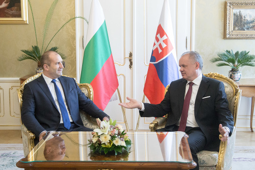Rumen Radev a Andrej