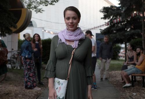 Tehotná Gabriela Marcinková na