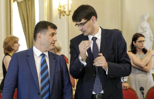 Branislav Ondruš a Peter