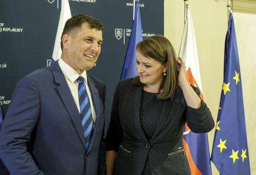 Branislav Ondruš a Monika