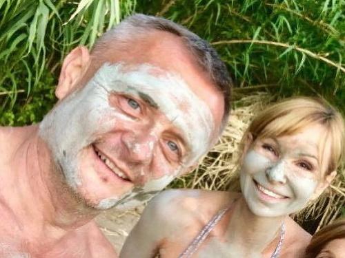 Vilo Rozboril s manželkou