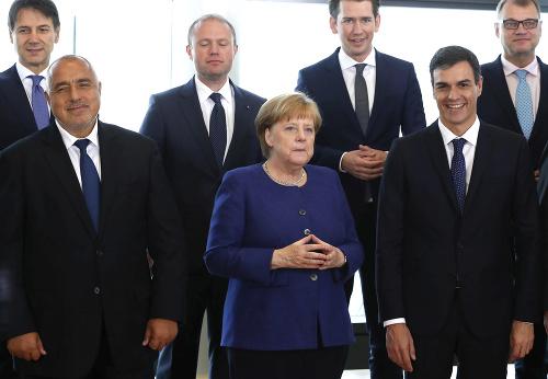 Európski lídri, ktorí sa