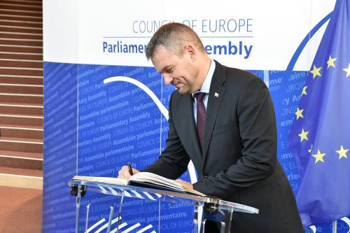 Premiér SR Peter Pellegrini