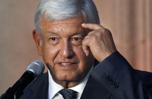 Novozvolený mexický prezident Andrés