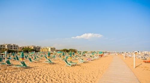 Pláž v Bibione