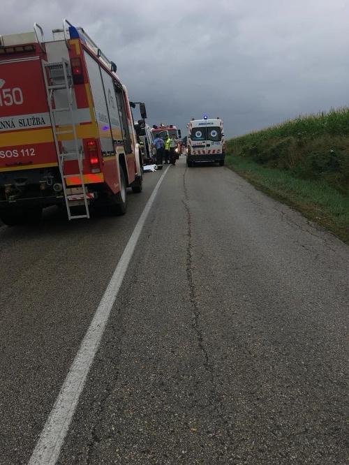 Vážna nehoda pri Budmericiach