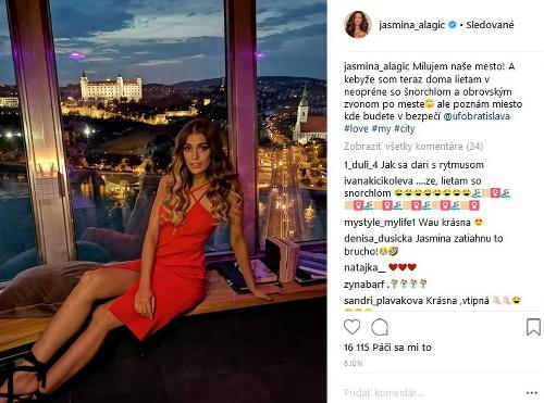 Jasmina Alagič zhodila umelinu:
