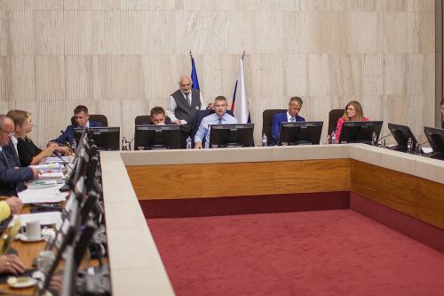 Rokovanie na úrade vlády