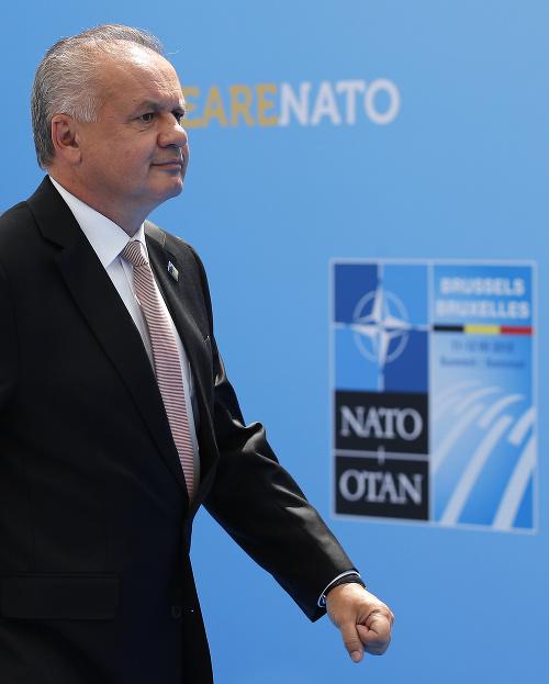 Prezident Andrej Kiska na