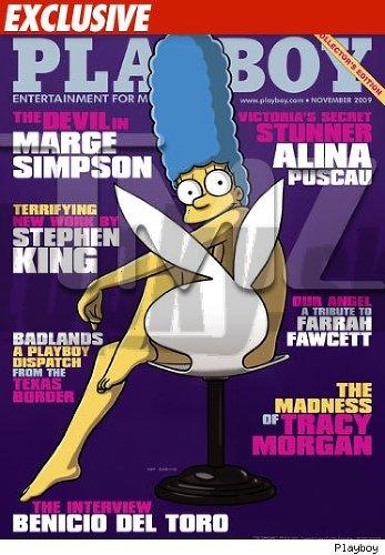 Marge Simpson na obálke