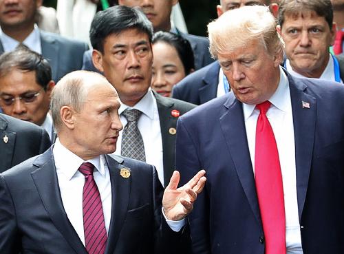 Vladimir Putin a Donald