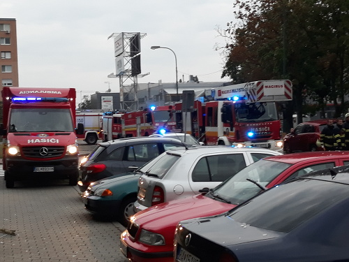 Hasičský zásah v Bratislave