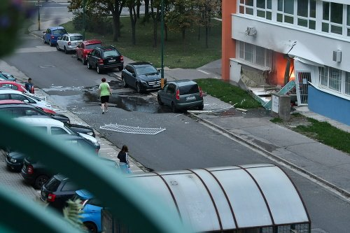 Výbuch v Bratislave