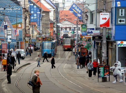 Bratislavská Obchodná ulica