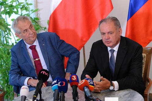 Miloš Zeman a Andrej