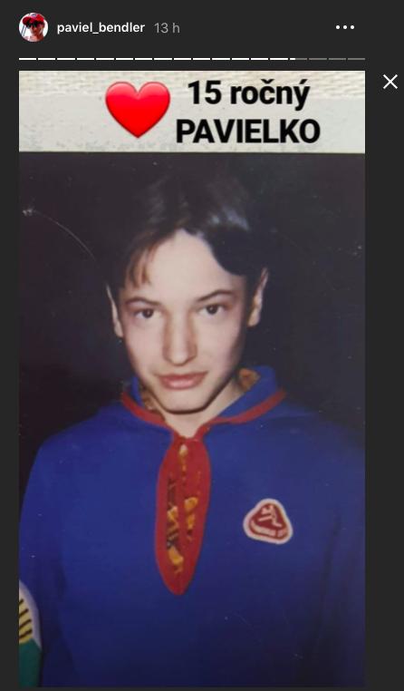 Paviel Rochnyak ako 15-ročné